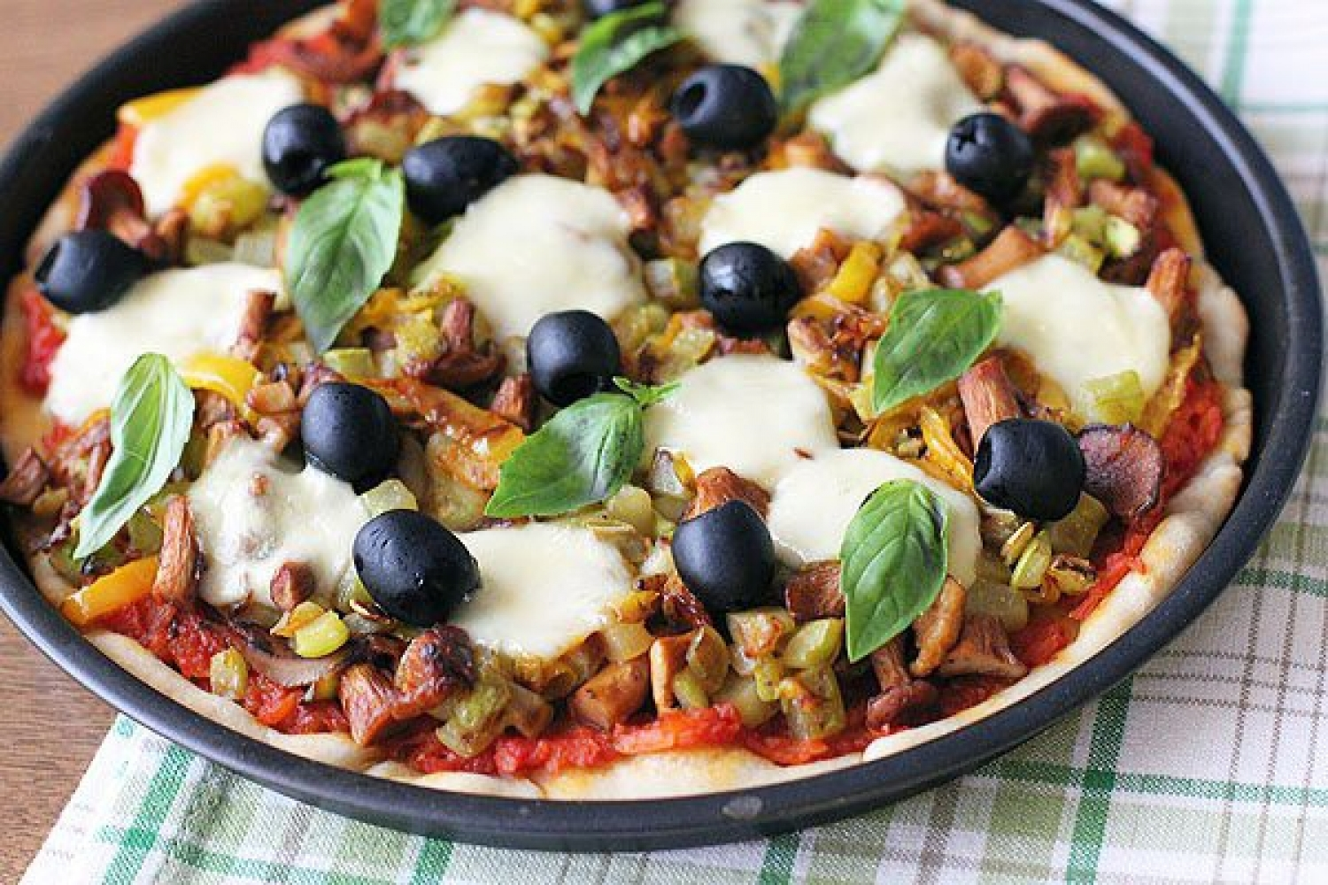 Recipe for juicy vegetable pizza - foto 1581