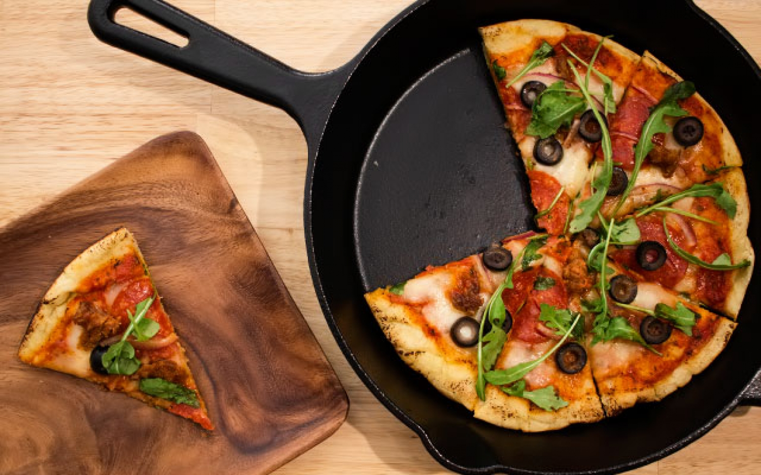 Pizza in the frying pan - foto 1594
