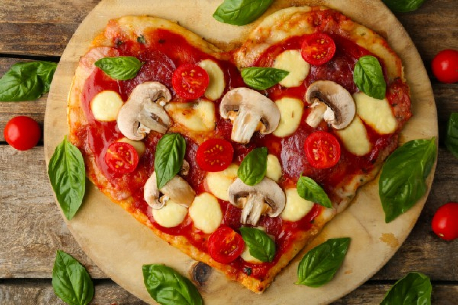 Valentine's Day: 5 ideas for heart pizza on February 14 - foto 1636