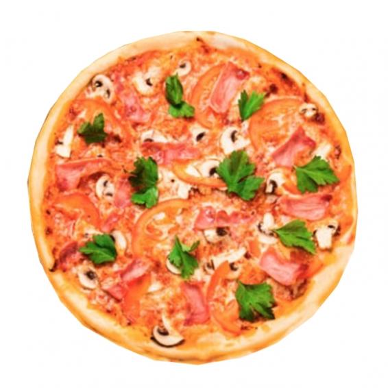 Где заказать пиццу с колбасой?