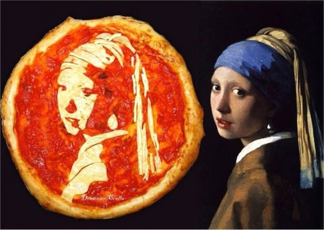 Pizza as art - foto 437