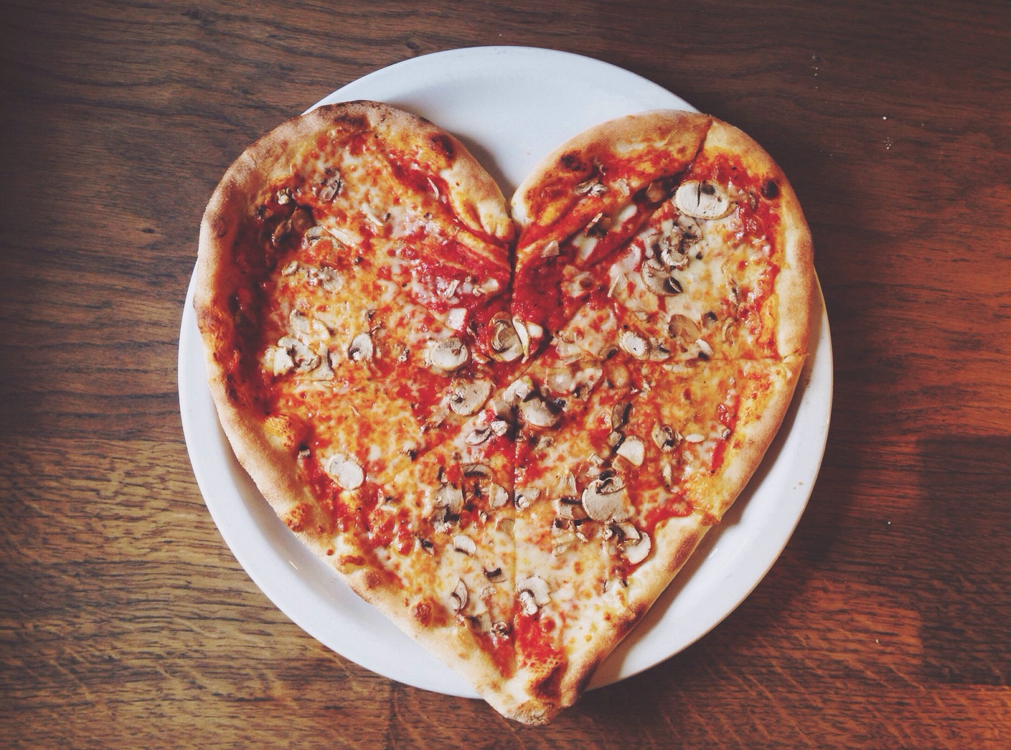 Love for pizza